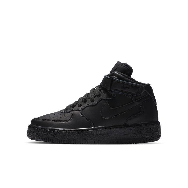Nike Air Force 1 Mid 06 sko for store barn - Black
