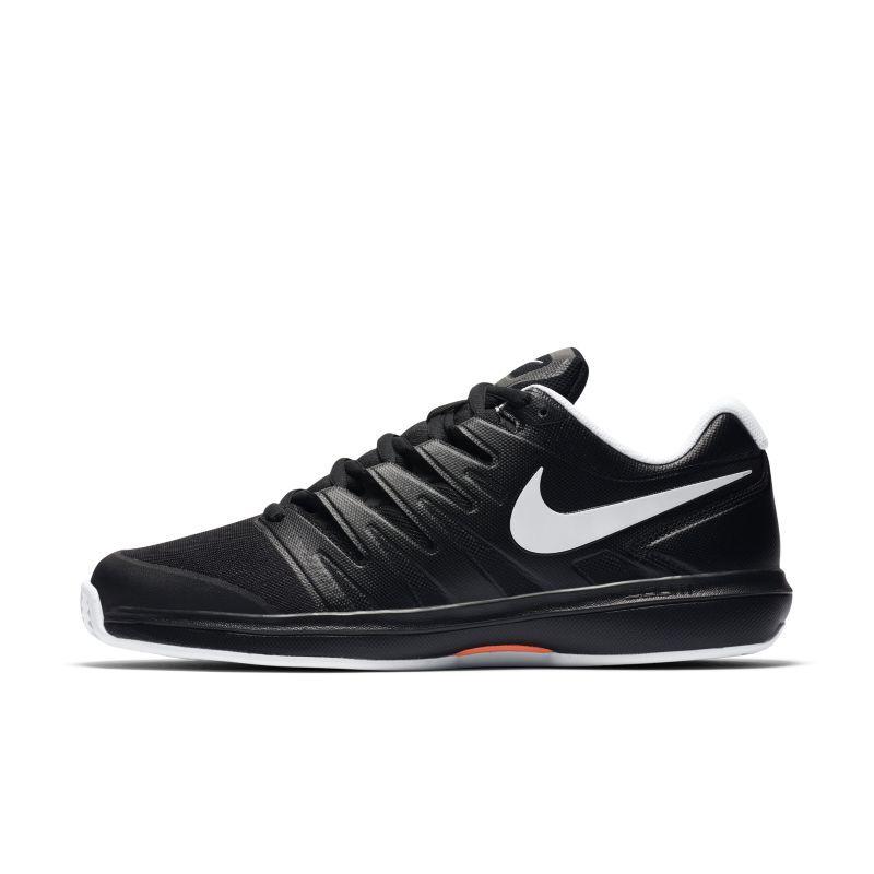 NikeCourt Air Zoom Prestige tennissko for grus til herre - Black