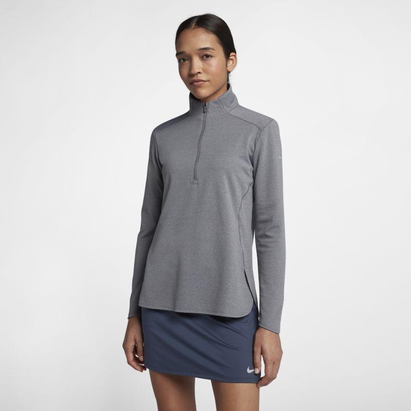 Nike Dri-FIT langermet golfoverdel for dame - Grey