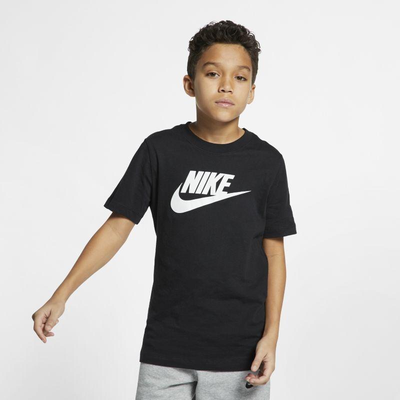 Nike Sportswear T-skjorte til store barn - Black