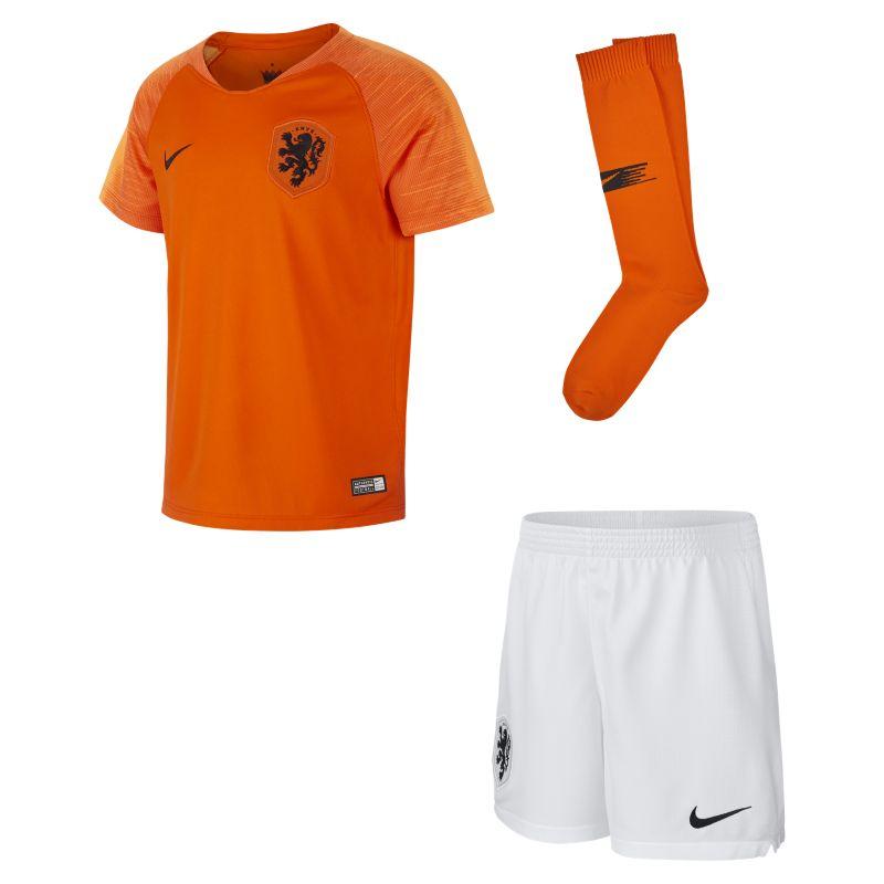 Nike 2018/19 Nederland Stadium hjemmedraktsett til små barn - Orange