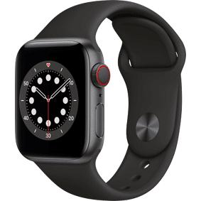 Apple Watch 6 Aluminium Stellargrå 40mm