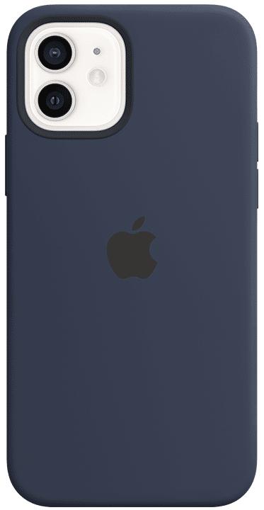 Apple Silikondeksel Magsafe Iphone 12/12 Pro, Marineblå
