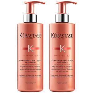 Kérastase Discipline Curl Ideal Cleansing Conditioner 400ml Duo