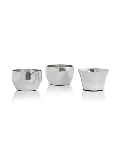 Skultuna Kin Polished Steel Set of Three