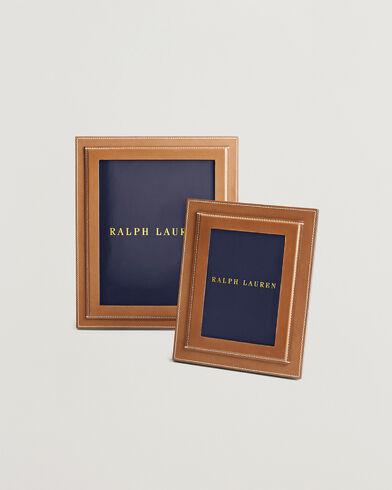 Ralph Lauren Home Brennan 8x10 Photo Frame Saddle
