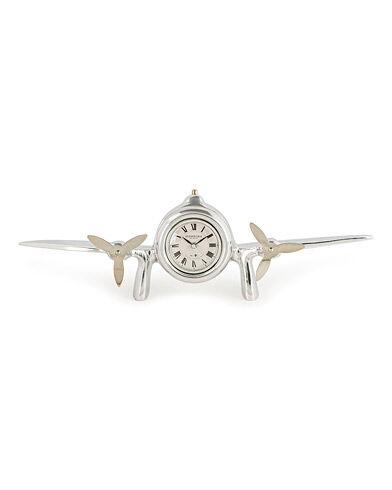 Authentic Models Art Deco Flight Clock Silver