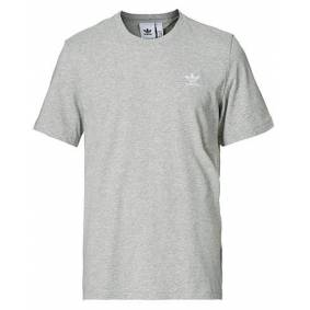 adidas Originals Essential Trefoil Tee Grey Melange