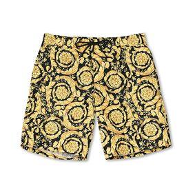 Versace Barocco Swim Trunks Black/Gold