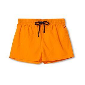 Vilebrequin Man Plain Swim Shorts Orange