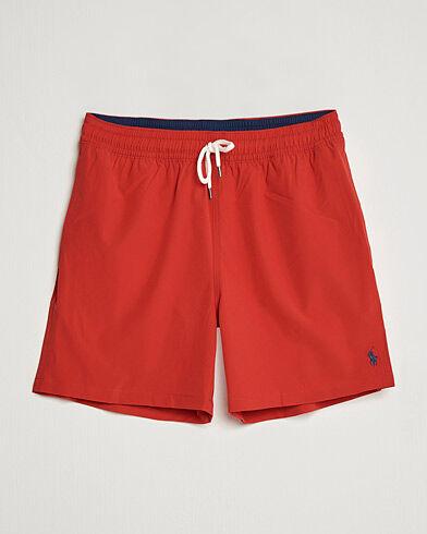 Polo Ralph Lauren Traveler Boxer Swimshorts RL Red