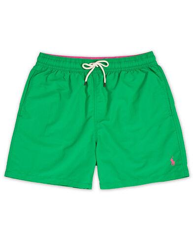 Polo Ralph Lauren Traveler Boxer Swimshorts Golf Green