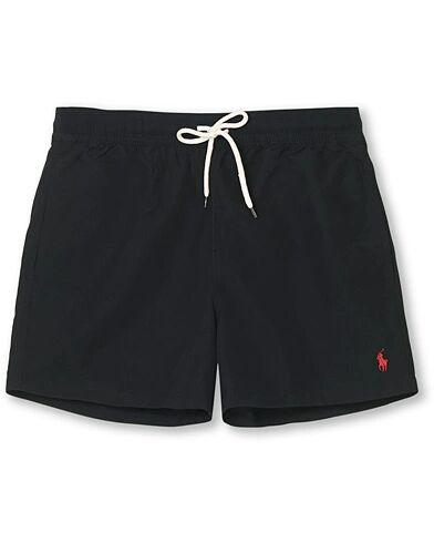 Polo Ralph Lauren Slim Short Traveler Swimshorts Black