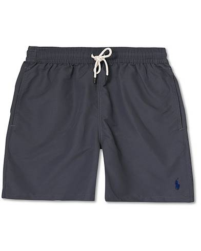 Polo Ralph Lauren Slim Traveler Swimshorts Combat Grey