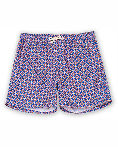 Ripa Ripa Levante Printed Swimshorts Red/Blue