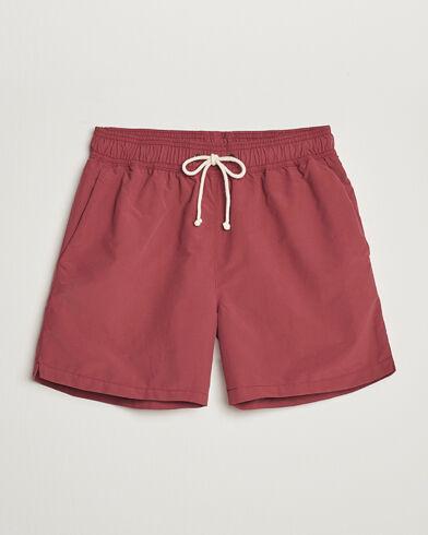 Ripa Ripa Plain Swimshorts Soft Red