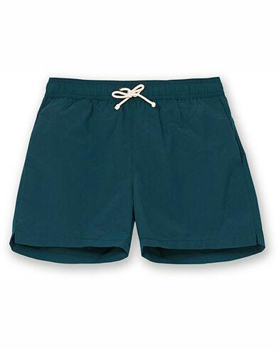 Ripa Ripa Plain Swimshorts Green