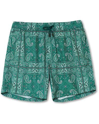 NIKBEN Studio El Pino Swim Shorts Green
