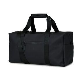 RAINS Small Weekendbag Black