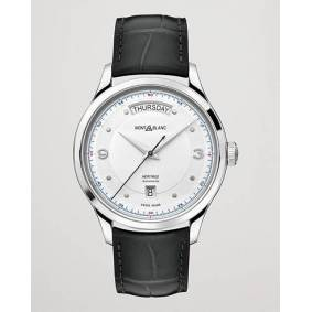 Montblanc Heritage Steel Automatic 39mm Silver Dial