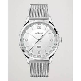 Montblanc Heritage Steel Automatic 40mm Silver Dial