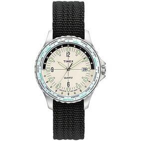 Timex Navi World Time Cream Dial