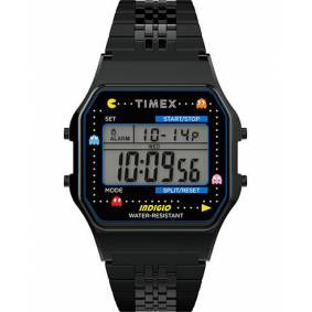 Timex T80 Pac Man Collection Bracelet Black