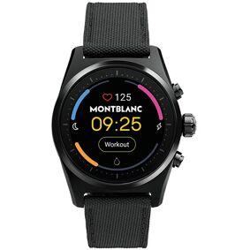 Montblanc Summit Lite Smartwatch Black Fabric Strap