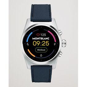 Montblanc Summit Lite Smartwatch Grey/Blue Fabric Strap