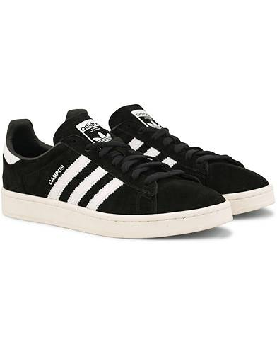 adidas Originals Campus Nubuck Sneaker Black