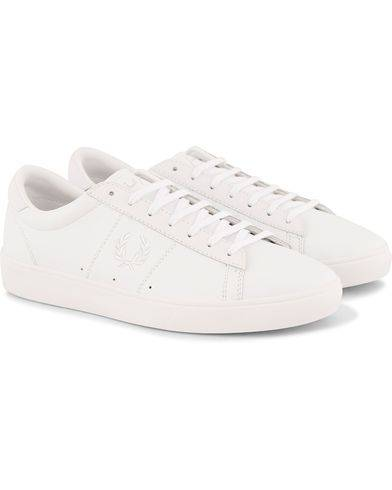 Fred Perry Spencer Leather Sneaker White