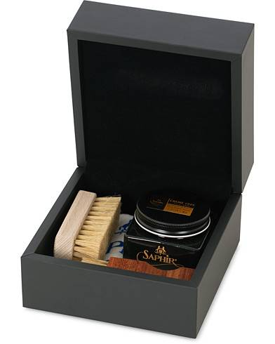 Saphir Medaille d'Or Gift Box Creme Pommadier Black & Brush