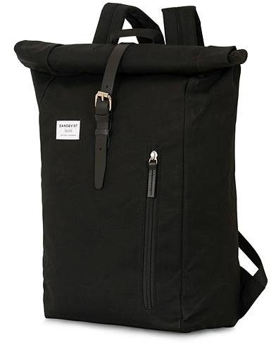 Sandqvist Dante Roll Top Backpack Black