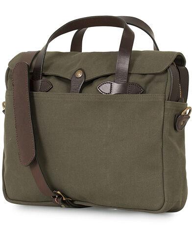Filson Original Briefcase Otter Green Canvas