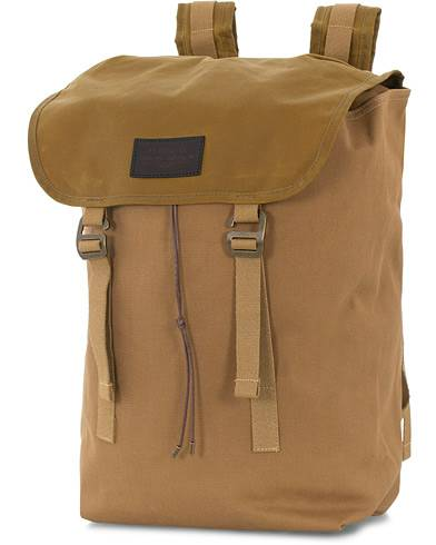 Filson Rugged Twill Ranger Backpack Tan Canvas