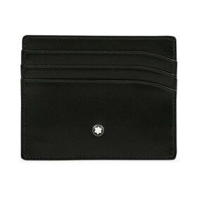 Montblanc Meisterstück Pocket 6 Credit Card Holder Black