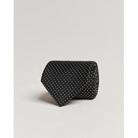 Amanda Christensen Micro Dot Classic Tie 8 cm Black/White