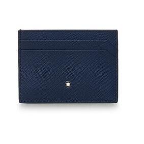Montblanc Sartorial Pocket Credit Card Holder 5cc Indigo