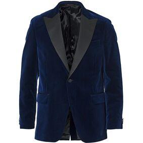 Oscar Jacobson Frampton Velvet Tuxedo Jacket Navy