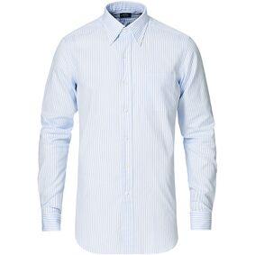 Kamakura Shirts Slim Fit Oxford Button Down Shirt Light Blue