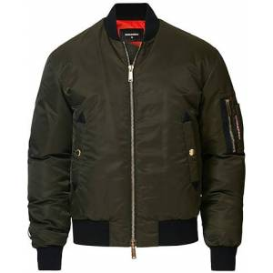 Dsquared2 Aviator Bomber Jacket Army Green