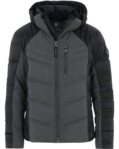 Bogner Bruce Wool Ski Jacket Grey/Black
