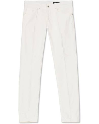Dondup George Gabardine 5-Pocket  Off White