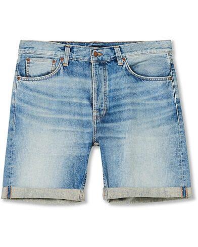 Nudie Jeans Josh Denim Shorts Light Glow