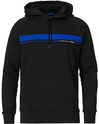 Boss Porsche Capsule Seeger Full Zip Hybrid Sweater Black