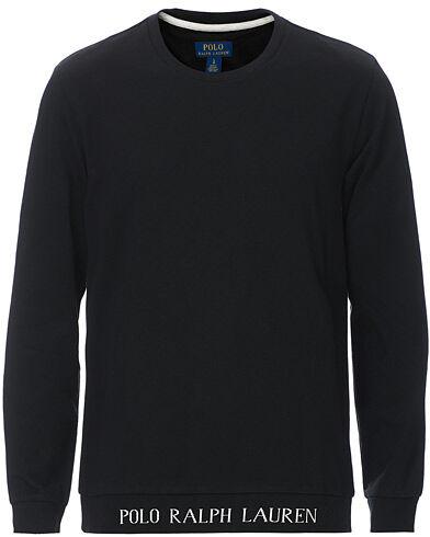 Polo Ralph Lauren Logo Crew Neck Sweatshirt Black