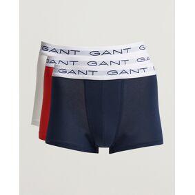 GANT 3-Pack Trunk Boxer Red/Navy/White