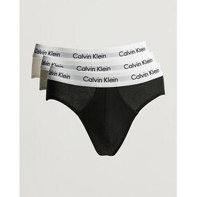 Calvin Klein Cotton Stretch Hip Breif 3-Pack Black/White/Grey
