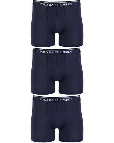 Polo Ralph Lauren 3-Pack Boxer Brief Navy