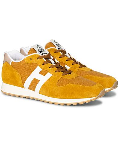 Hogan Rebel Running Sneaker Rust Suede